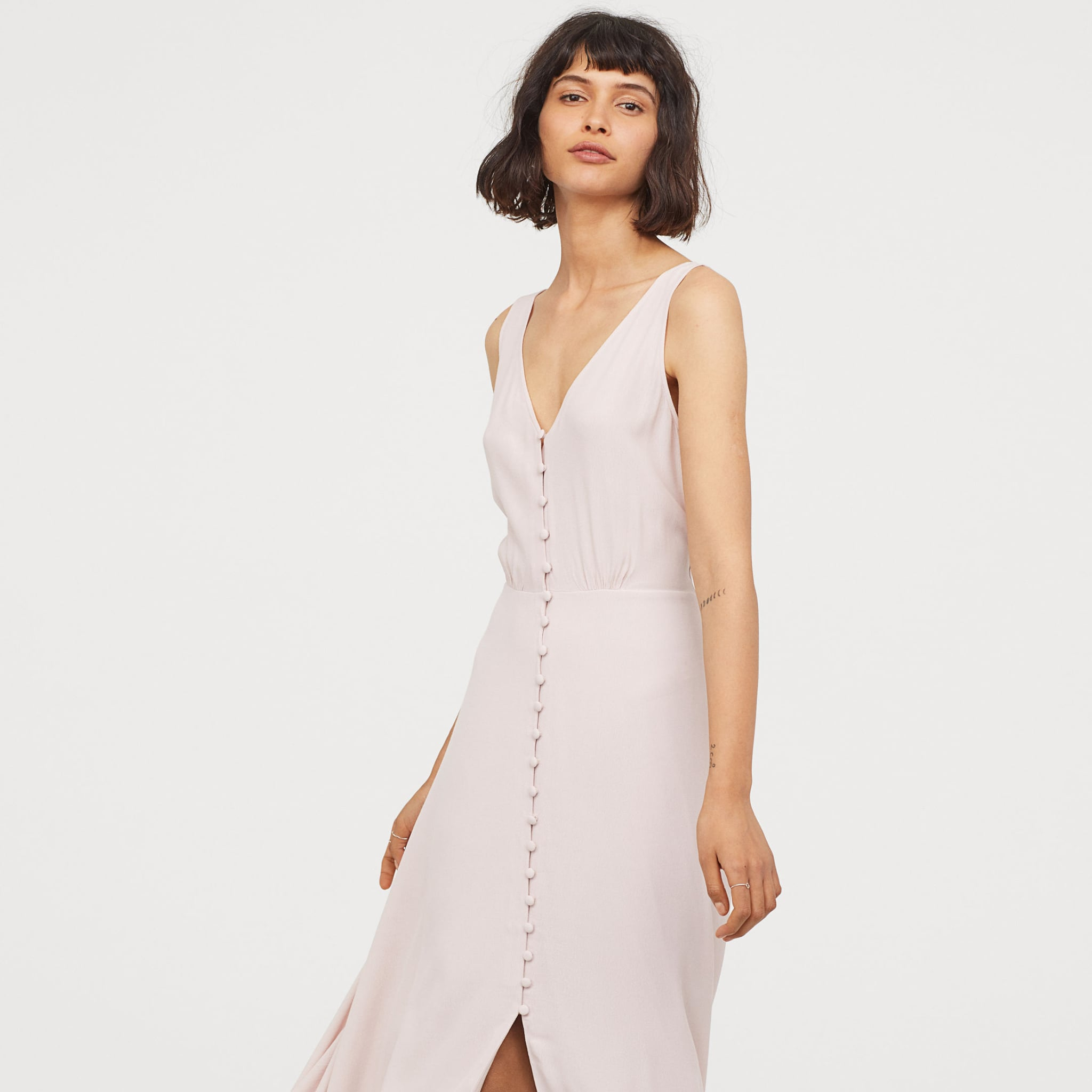 c818f06d9f479 H&M Wrap Dress | Best Summer Wedding Guest Dresses From H&M | POPSUGAR  Fashion Photo 11