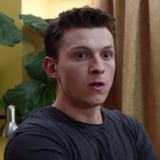 Whoops! Tom Holland Nearly Blows His Cover in This Exclusive Spider-Man