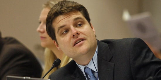 GOP Lawmaker Matt Gaetz Ripped For Tweet Politicizing Death Of MLB Star Jose Fernandez