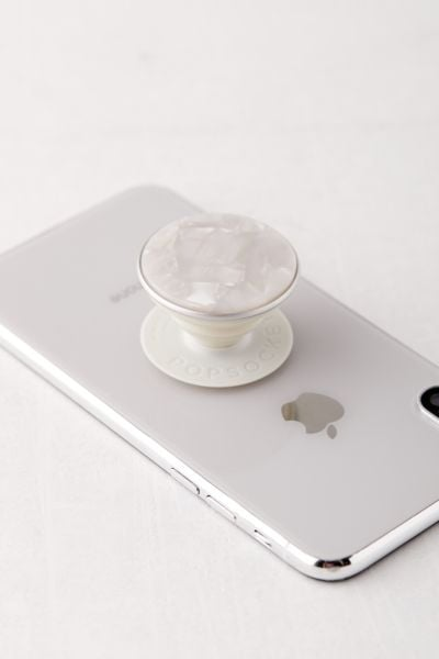 PopSockets Pearl White Phone Stand