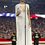 Oh Say Can You See the Problem With Ciara's National Championship Dress?