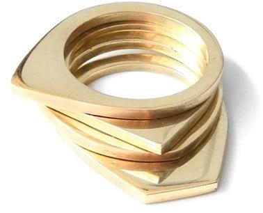 SOKO Cosmic Stacking Rings ($48)