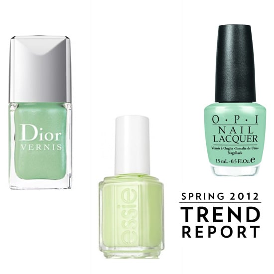 Trendy Lime Nail Lacquers For Spring 2012