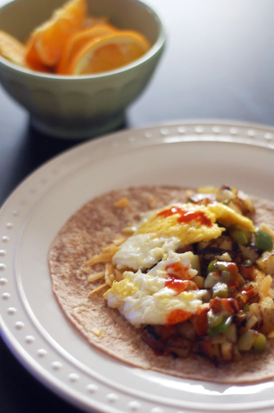 BYOBB (Build-Your-Own Breakfast Burrito)
