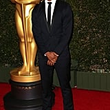 Michael B. Jordan attended the Governors Awards in LA.