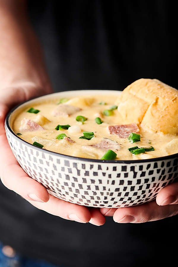 Ham and Cheese Potato Soup