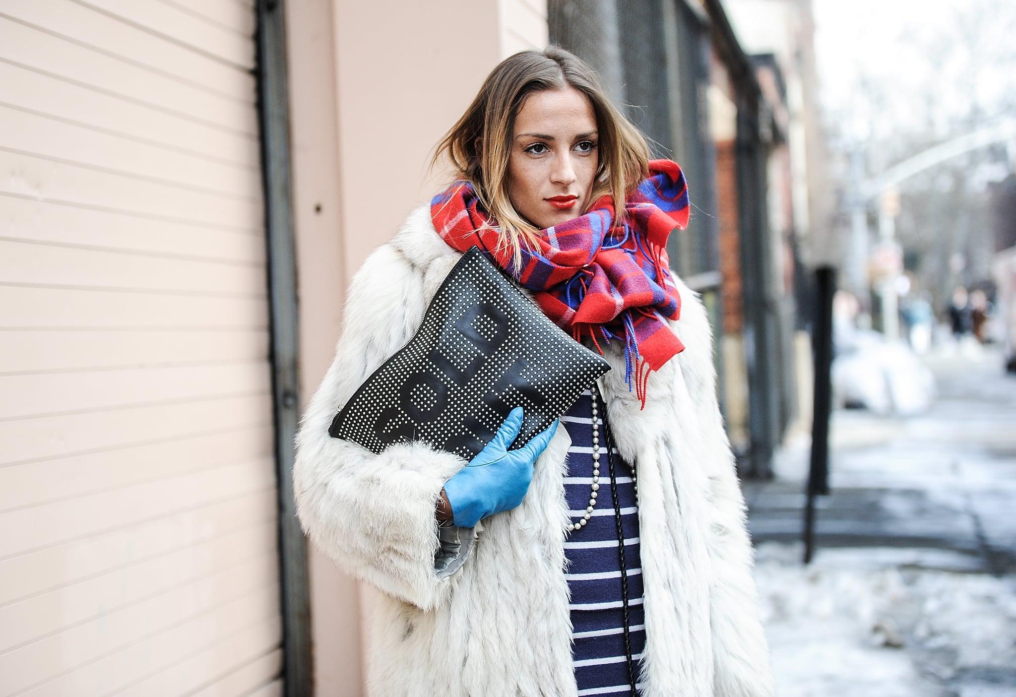 Word Clutches Street Style Trend  POPSUGAR Fashion