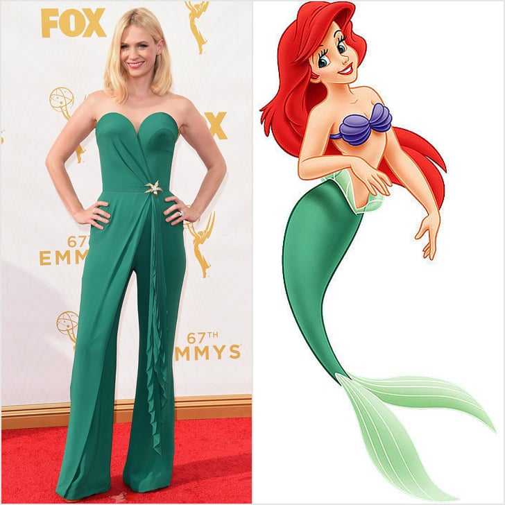 disney princess dresses at emmys 2015 popsugar fashion