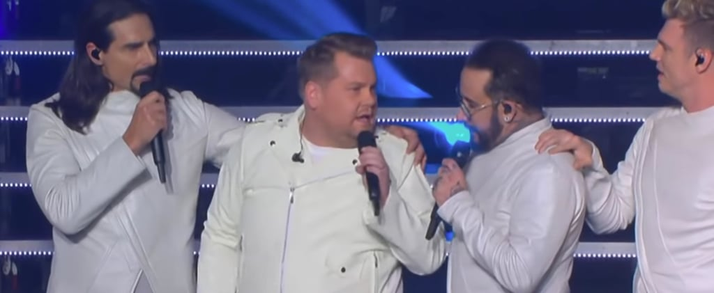 James Corden Sings With the Backstreet Boys