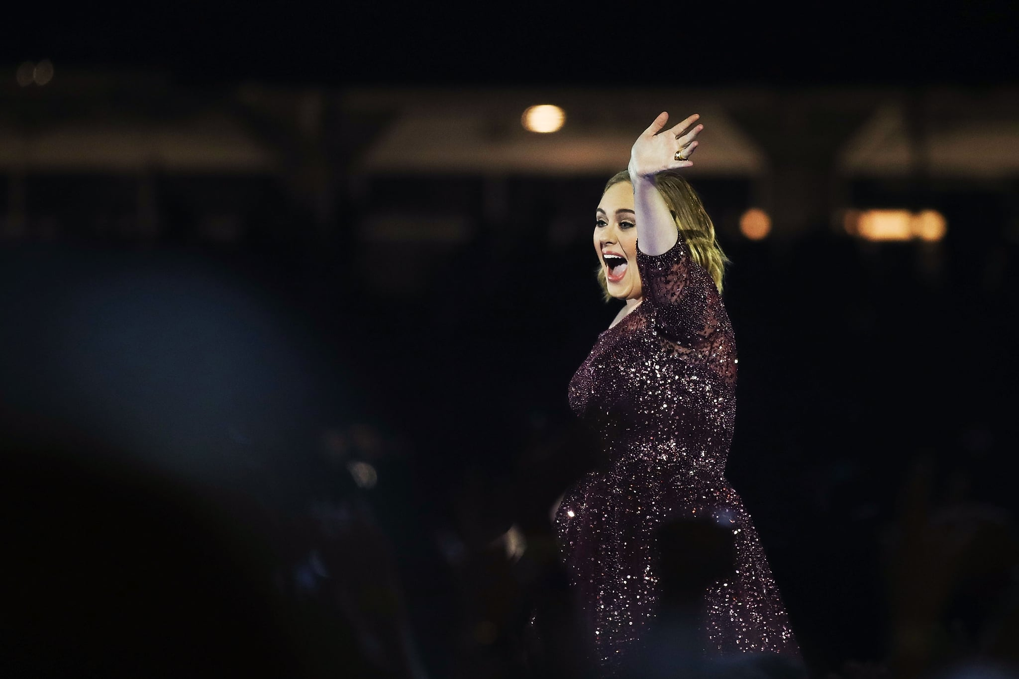 SYDNEY, AUSTRALIA - MARCH 10: Adele performs at ANZ Stadium on March 10, 2017 in Sydney, Australia.  (Photo by Cameron Spencer/Getty Images)