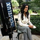 Rachel Roy filmed promotional commercials for her line. Source: Twitter user Rachel_Roy