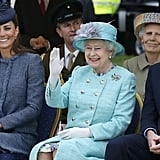 2,153: Price of her favorite Launer handbag, in dollars.  2,868: Number of diamonds in the Imperial State Crown.  3,500: Number of times she has given Royal Assent to an Act of Parliament.  23,225: Length of reign in days as of Sept. 8, 2015.  27,000,000: Number of TV viewers who watched the coronation on June 2, 1953.  340,000,000: Net worth, in Great British pounds.  6,600,000,000: Acres of land owned worldwide. The queen owns more land than any other person in the world.