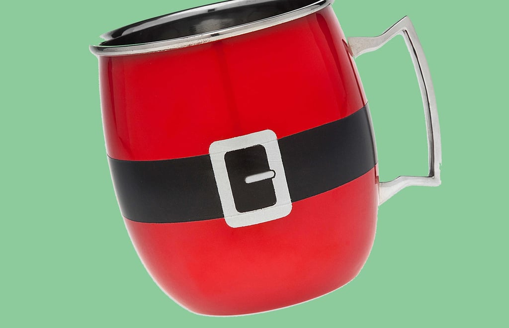 Santa Moscow Mule Mug