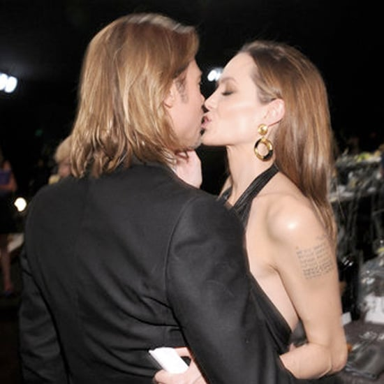 Angelina Jolie and Brad Pitt PDA Video