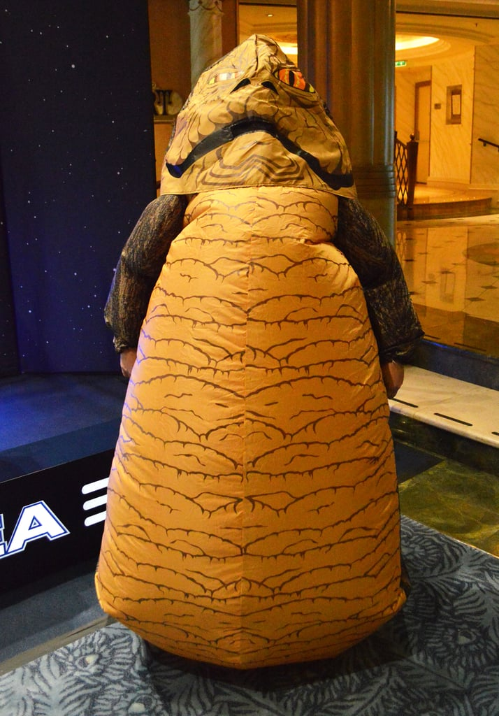 Star Wars Cruise Costumes | POPSUGAR Australia Tech Jabba The Hutt Costume Commercial