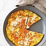 Carrot Noodle and Leek Frittata