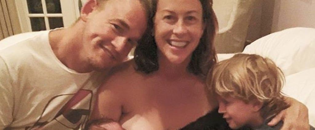 Alanis Morissette Breastfeeding Photos