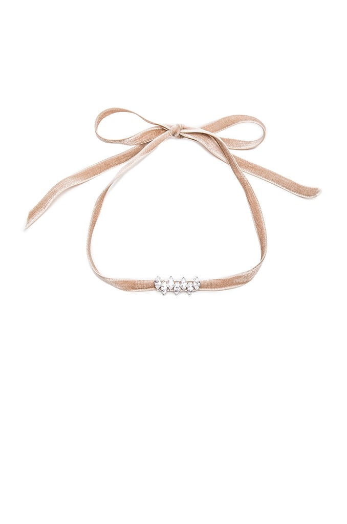 Monarch Mini Velvet Choker Fallon, $183.27