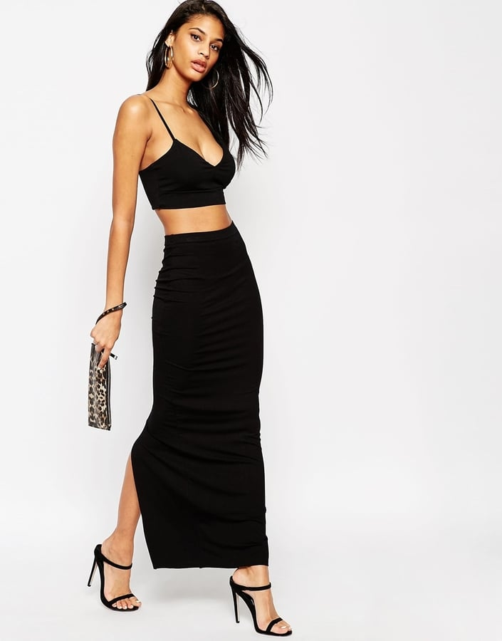 ASOS Maxi Tube Skirt with Back Vent ($33)
