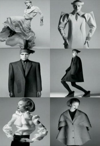 Womenswear Designer of the Year Nominees, top to bottom: 