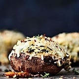 Spinach Artichoke Stuffed Mushrooms With Crab