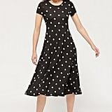 UO Darby Short-Sleeve Midi Dress