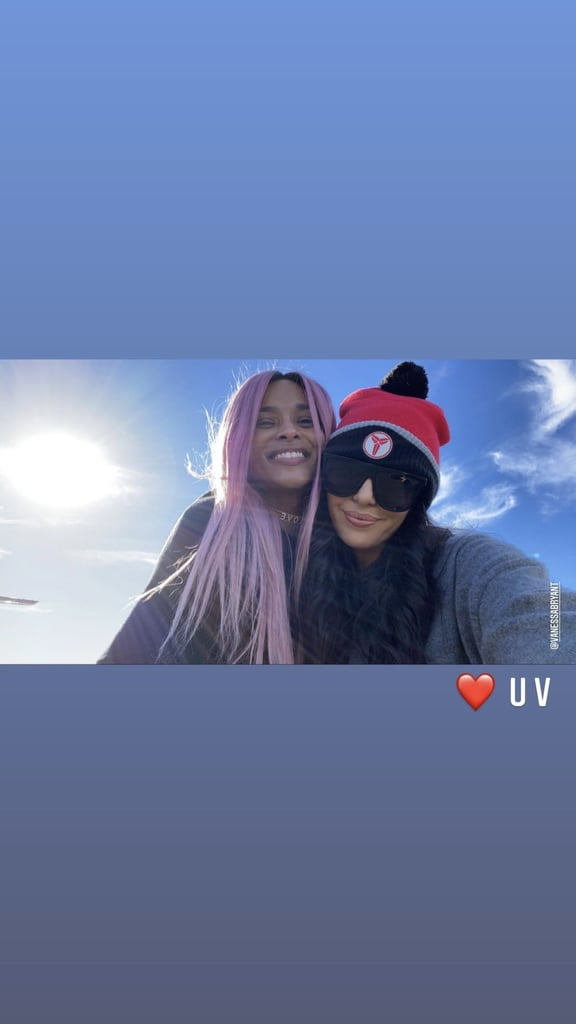 Vanessa Bryant and Ciara Take Their Families on a Ski Trip