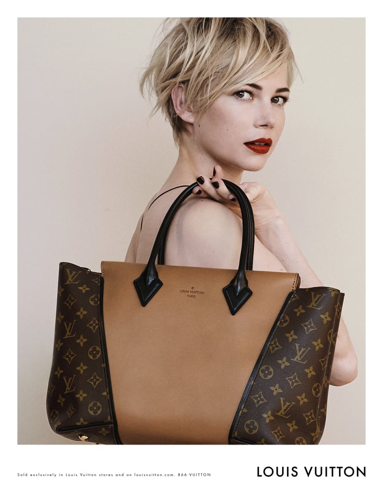 Michelle Williams's Fall 2013 Louis Vuitton Handbag Campaign