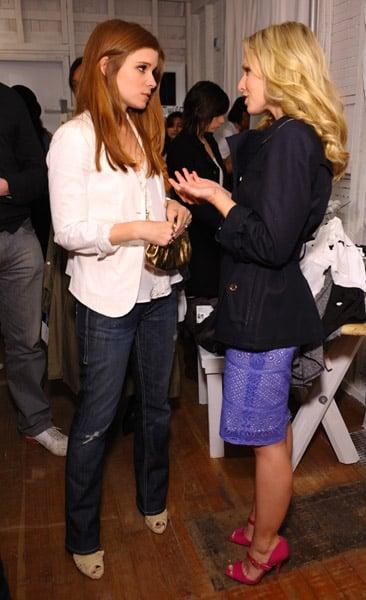 Kate Mara and Kristen Bell