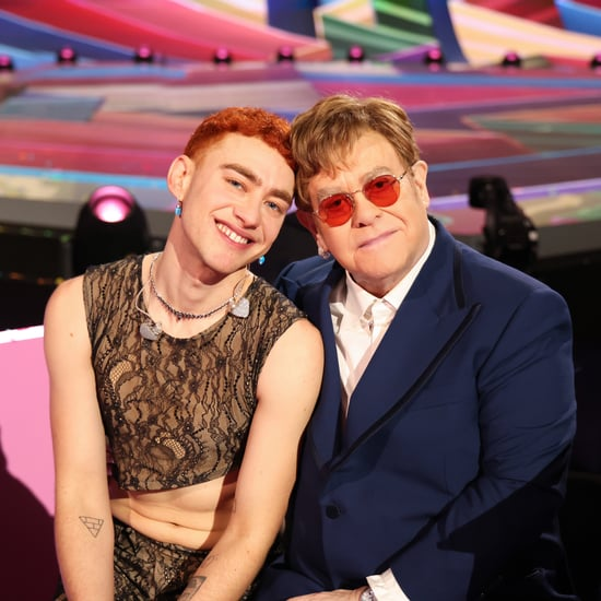 Olly Alexander Performs With Sir Elton John at BRITs 2021