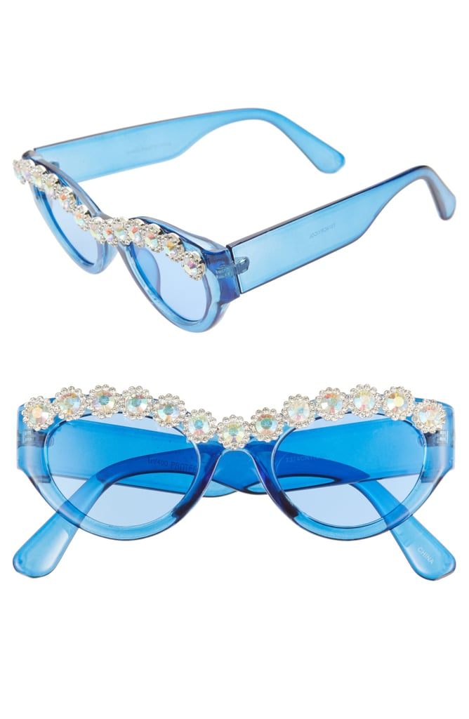 Rad + Refined Crystal Embellished Sunglasses