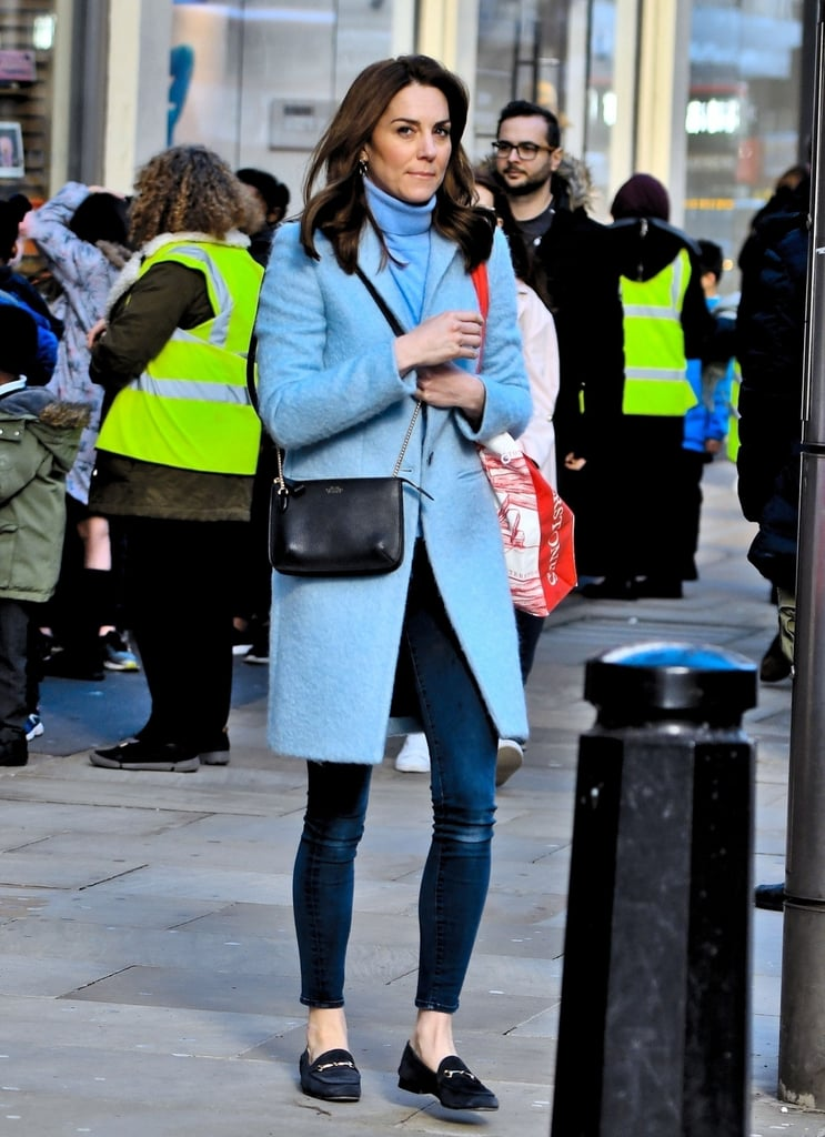 Kate Middleton's Icy-Blue Outfit Would Make Frozen's Elsa Proud