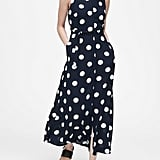 Banana Republic Polka Dot Maxi Dress