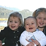 Princess Ariane, Princess Alexia, and Princess Amalia