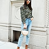 Style Your Jeans With: A Blouse, a Bag, and Boots
