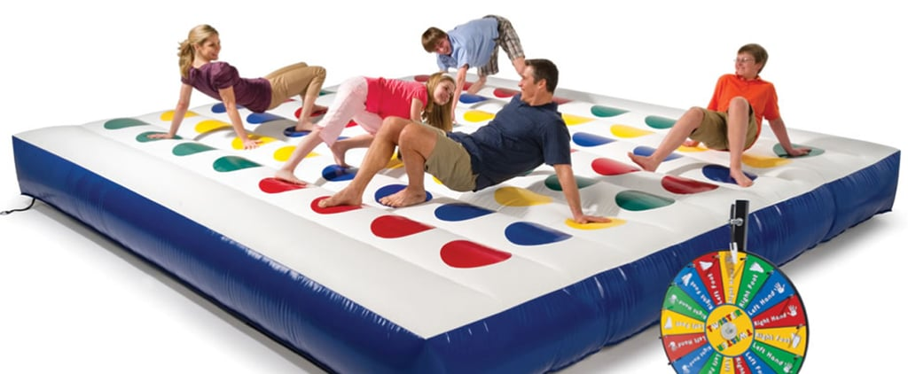 Giant Inflatable Twister Board Game