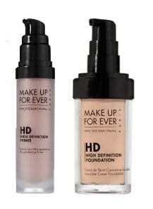Saturday Giveaway! Make Up For Ever HD Microfinish Primer and Foundation