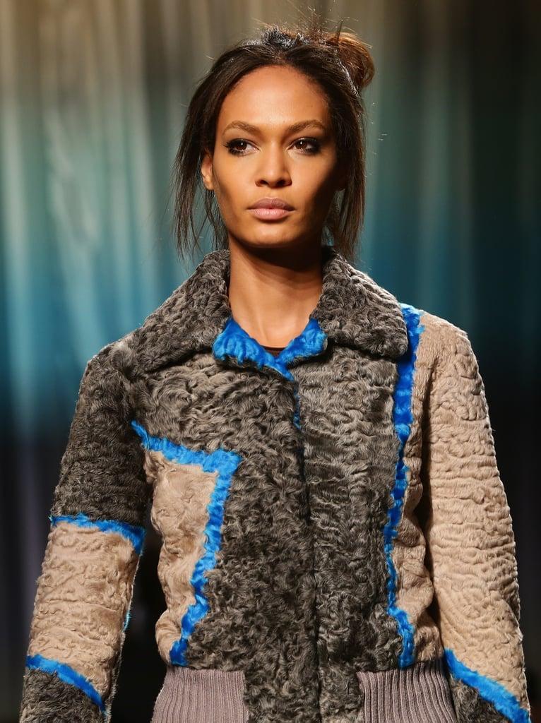Messy Hair and Black Liner for Missoni at Milan Fashion Week