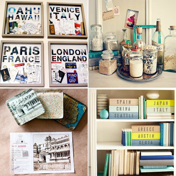 How To Display Travel Souvenirs Popsugar Smart Living