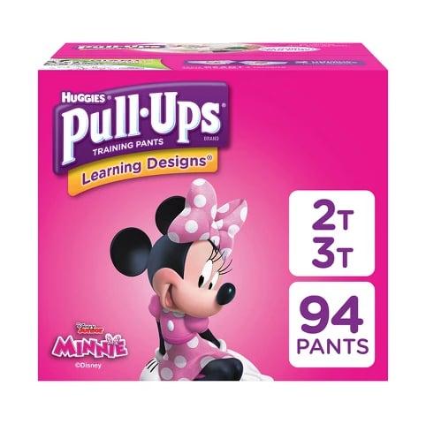 Huggies Pull-Ups Girls' Learning Design Training Pants