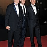 Bill Murray, Edward Norton, and Bruce Willis linked up at the opening night dinner for the Cannes Film Festival.