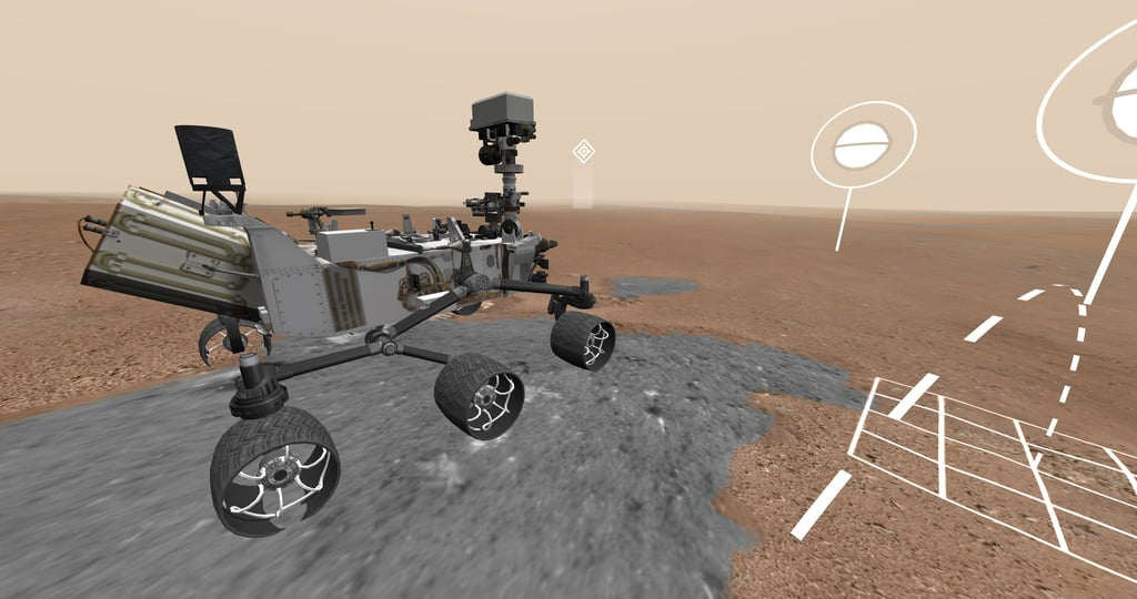 Curiosity Surface of Mars Virtual Tour