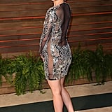 And Then Went Commando at the Vanity Fair Oscars Afterparty