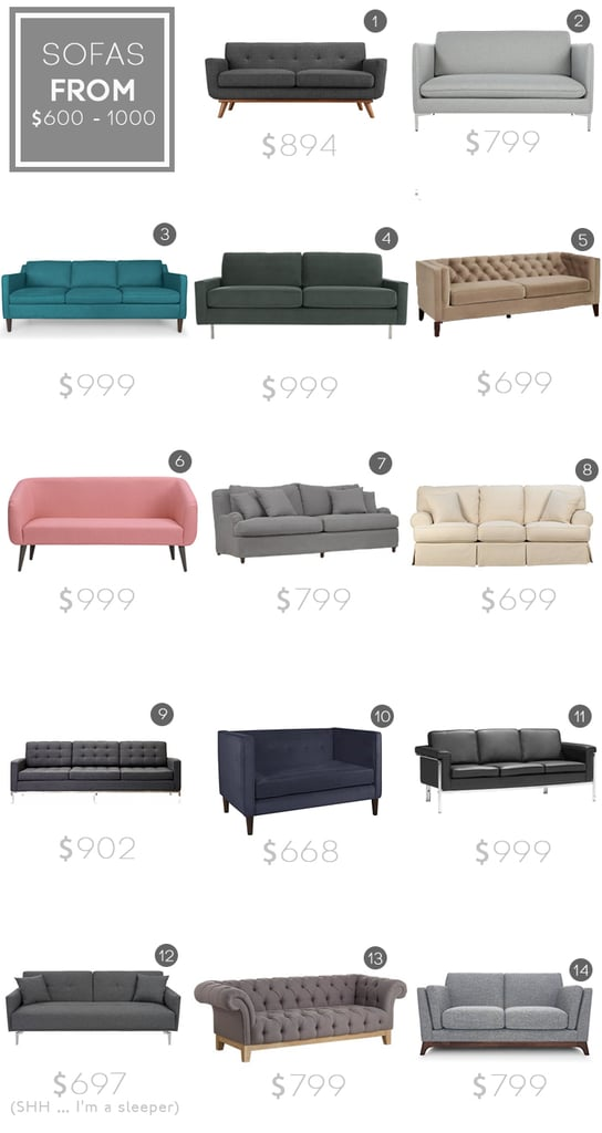 Tips For Buying A Sofa Popsugar Home