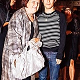 Suzy Menkes joined Joseph Altuzarra at the W cocktail party.