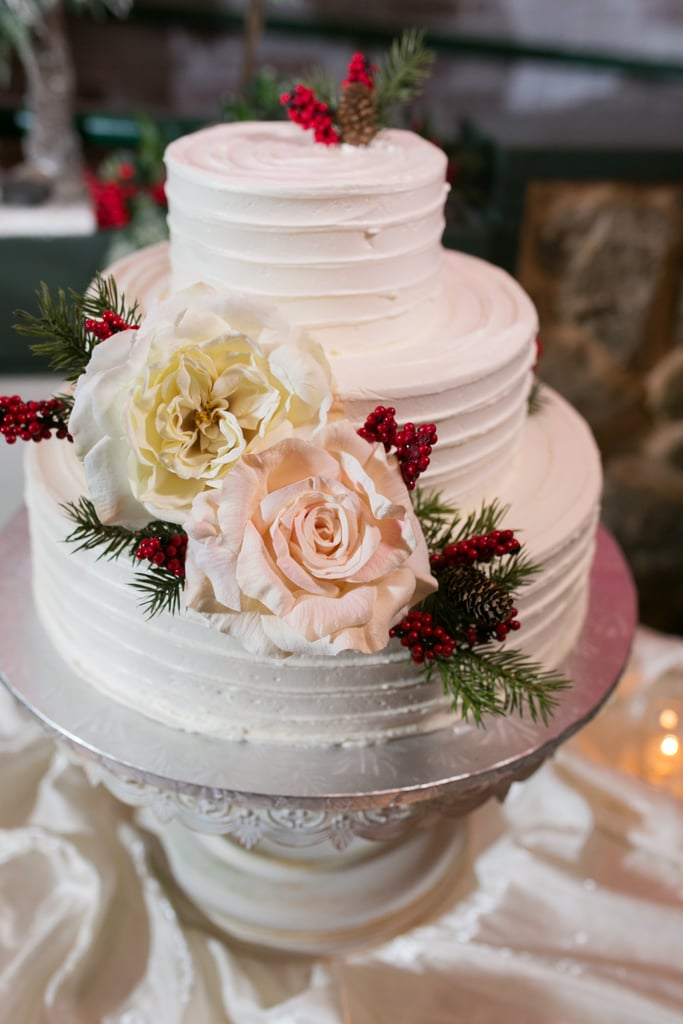 Berry and Rose Cake