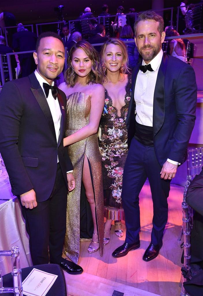 Chrissy Teigen and John Legend at Time 100 Gala