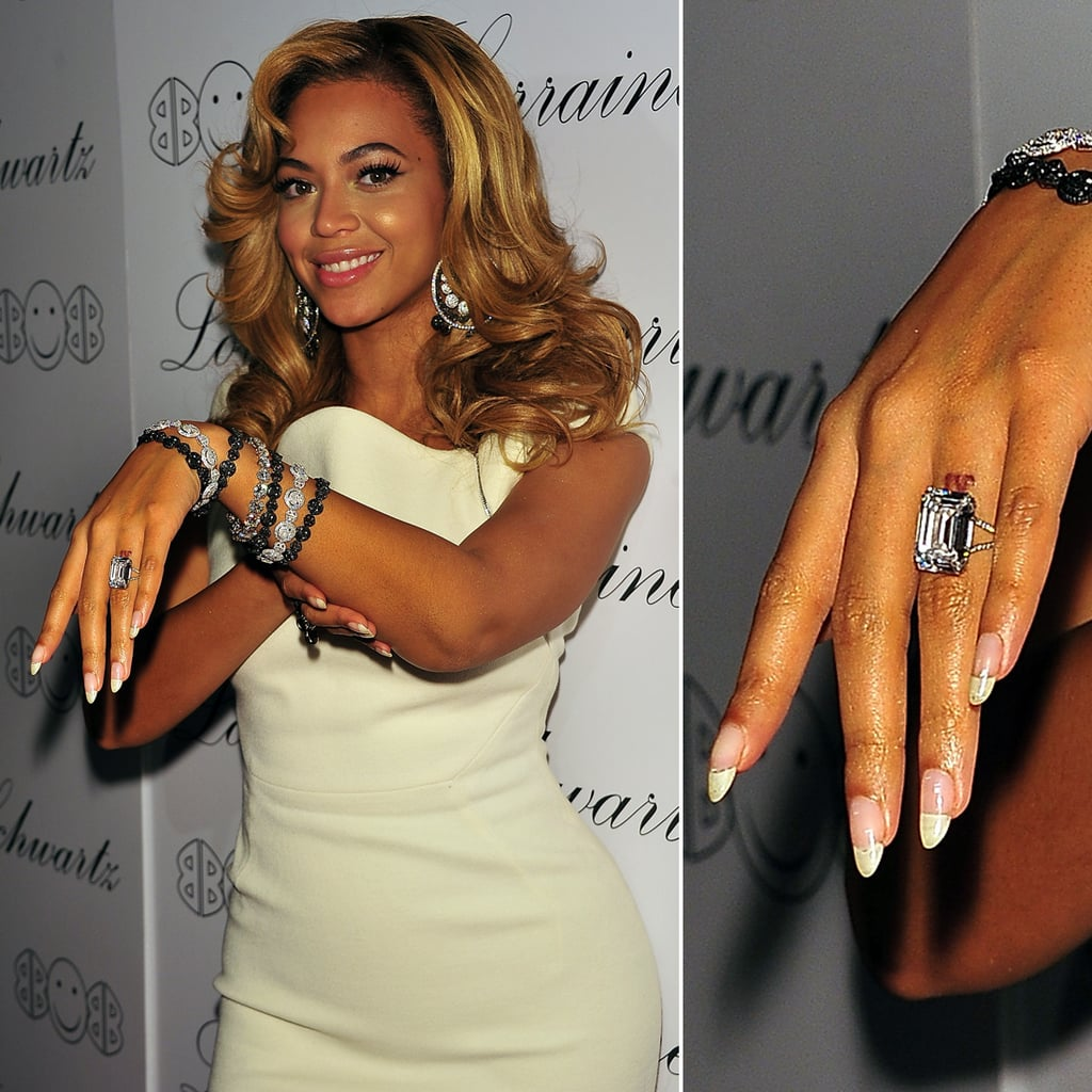 beyonc233 opted for a tattoo instead of a ring when she and