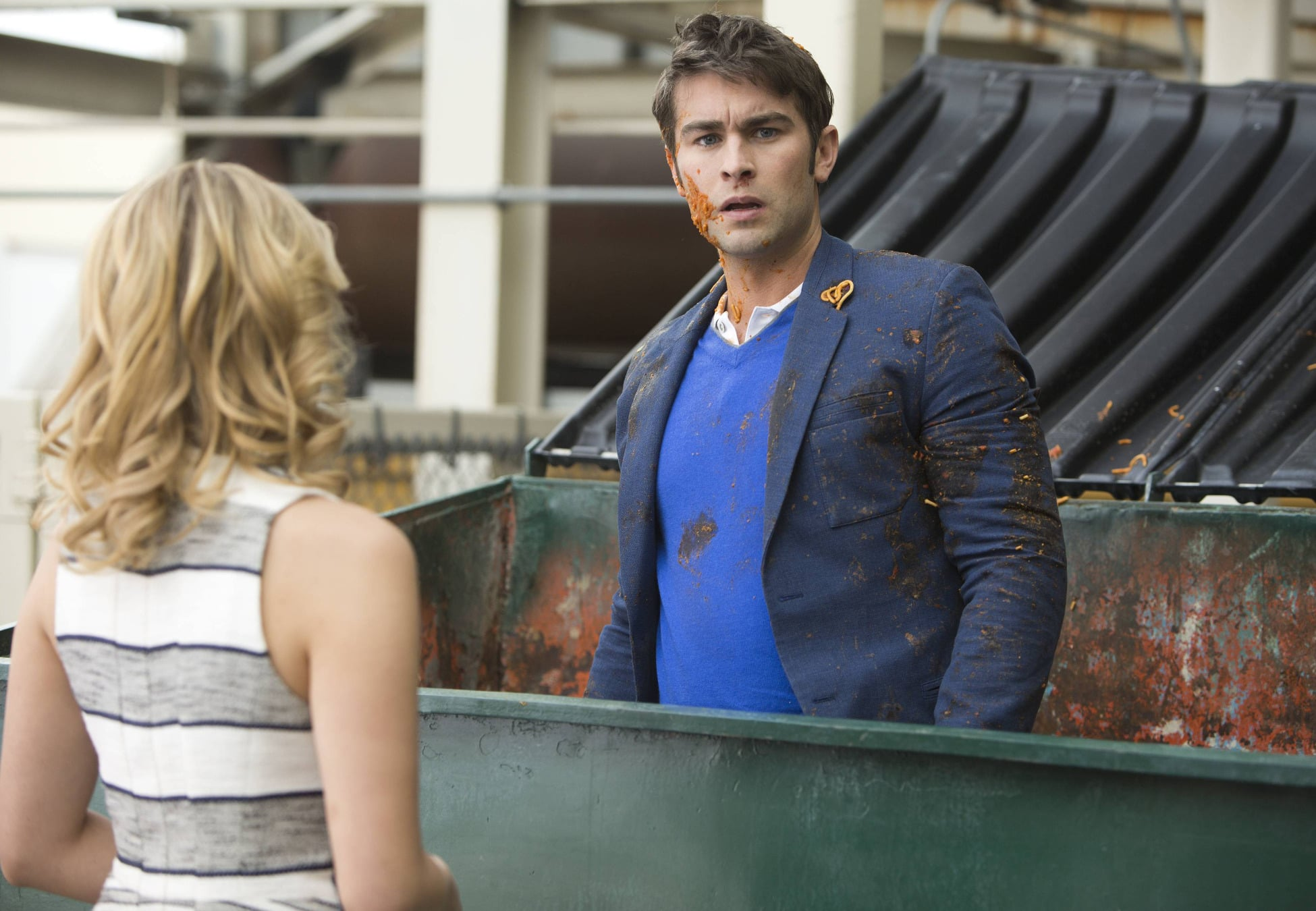 Gossip Girl's Chace Crawford will guest star as Biff, a love interest for Quinn.