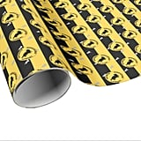 Harry Potter Hufflepuff Graphic Wrapping Paper